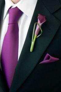 adorno traje de novio