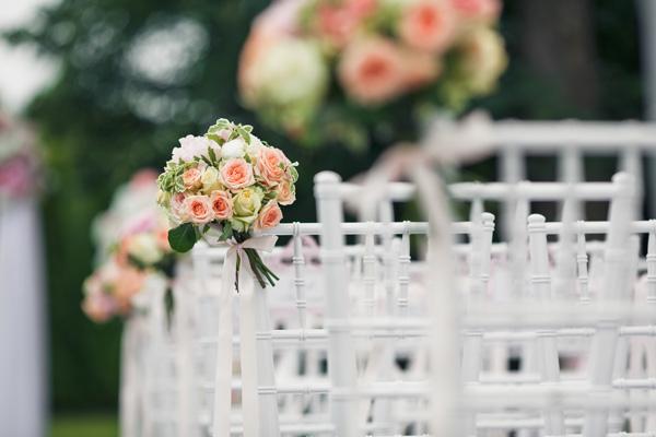menu de boda al aire libre