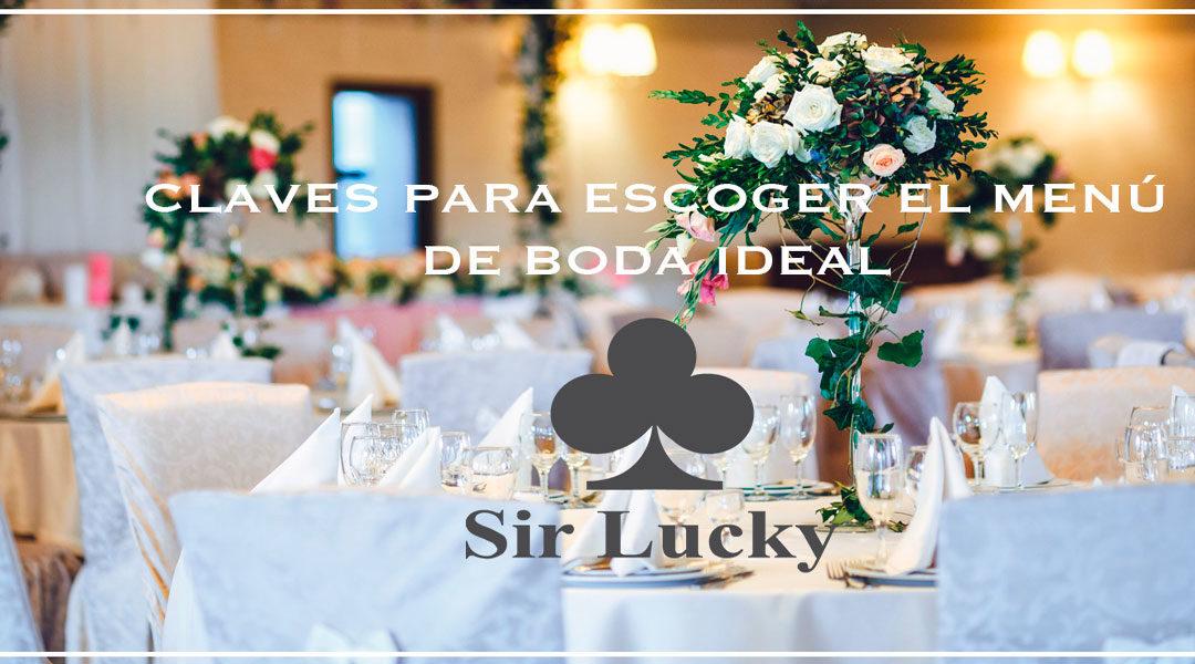 menu de boda sir lucky
