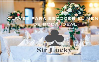 Todas las claves para elegir el menú de boda perfecto