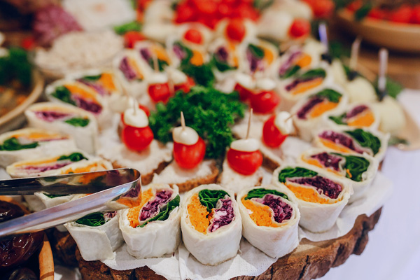 menu de boda aperitivos